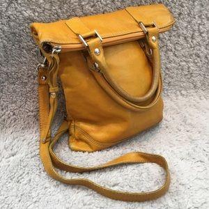 Mustard Maurizio Taiuti foldover bag